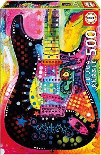 Educa Borrás- Puzzle 500 Lenny Strat, Dean Russo (17643)