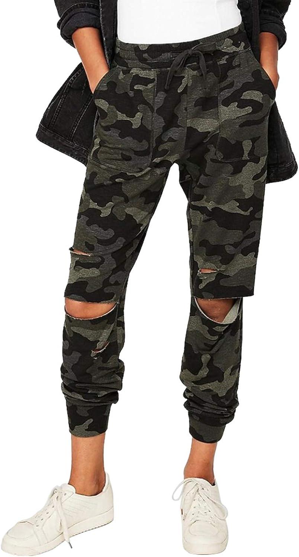 LookbookStore Women's Active Workout Joggers Drawstring Lounge Pants Sweatpants