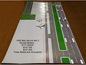 Gemini Jets 1/400 & 1/200 FCAAL003 2 Sided Airport Layout Mats x 4 - 200cm x 110cm Total Size by First Choice / Gemini Jets UK