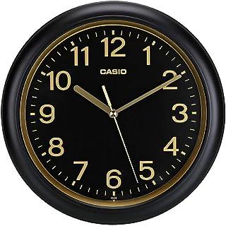 Casio Analog Wall Clock (IQ-59-1DFA),BLACK