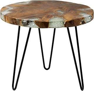 East at Main Sophia Brown Wooden End Table - 22