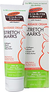 Palmer's Cocoa Butter Formula Massage Cream for Stretch Marks & Pregnancy Skin Care | 4.4 Ounces (Pack of 2)