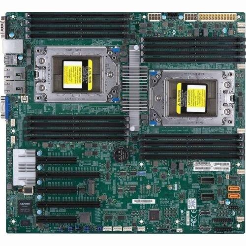 Supermicro MBD-H11DSI-B Sockel SP3, System on Chip, DDR4, SATA3, USB3.0, A&2GbE, EATX Motherboard