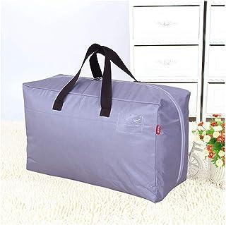 Aqiong CGS2 Organiseur de bagages portable pour vêtements de voyage en tissu Oxford Sac de rangement en plastique avec fer...