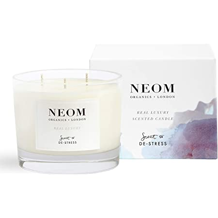 NEOM – Real Luxury Scented Candle, 3 Wick (14.8 oz) – Calming Scent