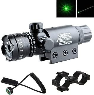 YTBLF Mira óptica, Rifle de Caza táctico, Herramienta de observación láser Verde, Rango Ajustable