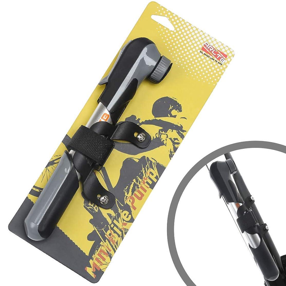 リッチ手がかりにはまってArltb 自転車ミニポンプ 自転車 空気入れ ミニ携帯ポンプ ミニポンプ 高圧力