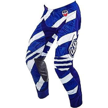 Troy Lee Designs Mens Off-Road Motocross Motorcycle SE Beta Pants Flo Yellow//Blue, 34