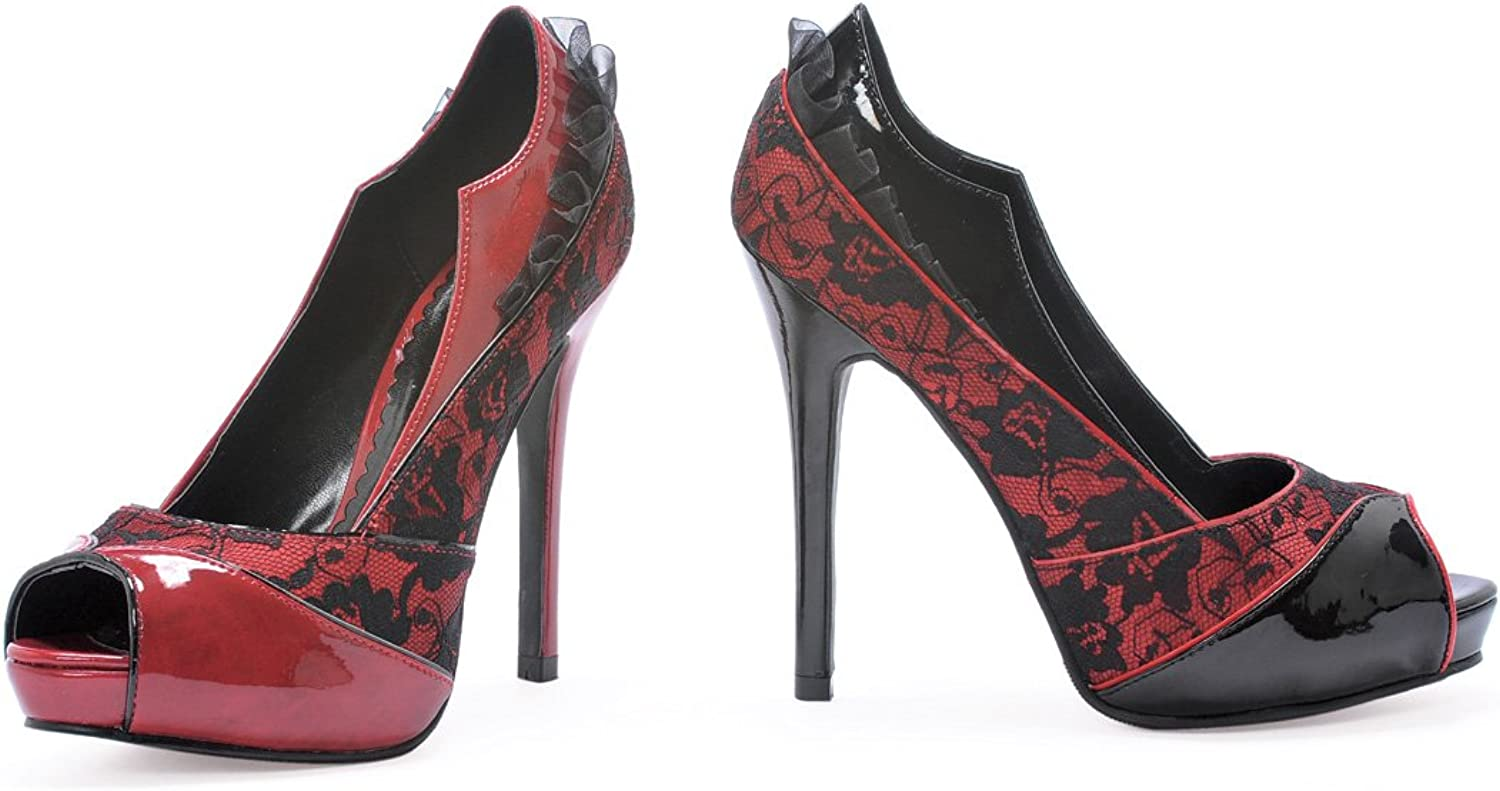 Peep Toe Vampire Women's Patent Leather