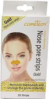 Cameleon Nose Pore and Blackhead Removel Strips, 10 Strips