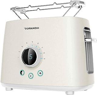 Tornado Toaster, 2 Slices, 1000 Watt, White