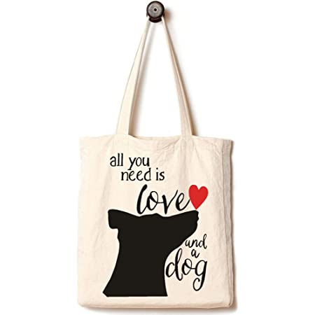 Yes You Can  Casual Cotton Canvas Tote