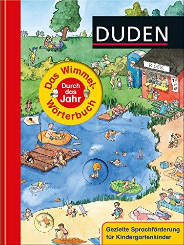 Duden - Das Wimmel-Wörterbuch - Durch das Jahr (DUDEN Pappbilderbücher 36+ Monate)