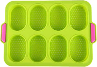 Silicone Cake Mold Pan Muffin Chocolate Pizza Baking Tray Mould Mold Pan Muffin Chocolate Pizza Baking Tray Mould Rectangular Pans for Pies, Cakes, Loaf, and More
