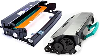 Combo Fotocondutor + Toner Compatível com Impressora Lexmark E260 E360 E460 E260D E360D E460D E260DN E360DN E460DW X263 X264 X363 X364 X463 X464 X466