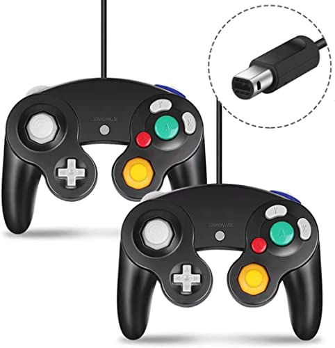 Cipon GC Controller, Wired Controllers Classic Gamepad Joystick Compatible with Gamecube Controller Nintendo and Wii ...