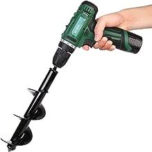 Senfhome Auger Drill, Non-Slip Garden Auger bit, -3.5