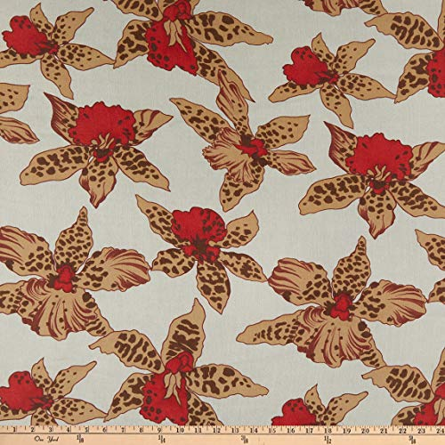 1765 WEST ADAMS BLVD 0751463 Silk Crinkle Chiffon Allover Lilly Fabric Stoff,...