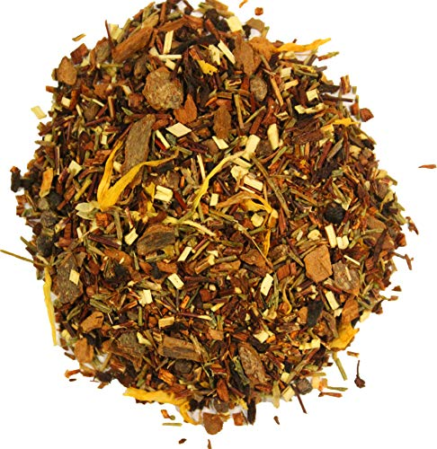 Nelson's Tea - Banana Nut Bread - Green Rooibos, cinnamon chips, honey bush, red rooibos, cardamom seeds, walnuts, marigold petals (2oz)
