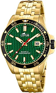 Lotus Reloj Analógico para Hombre de Cuarzo con Correa en Acero Inoxidable 18654/2