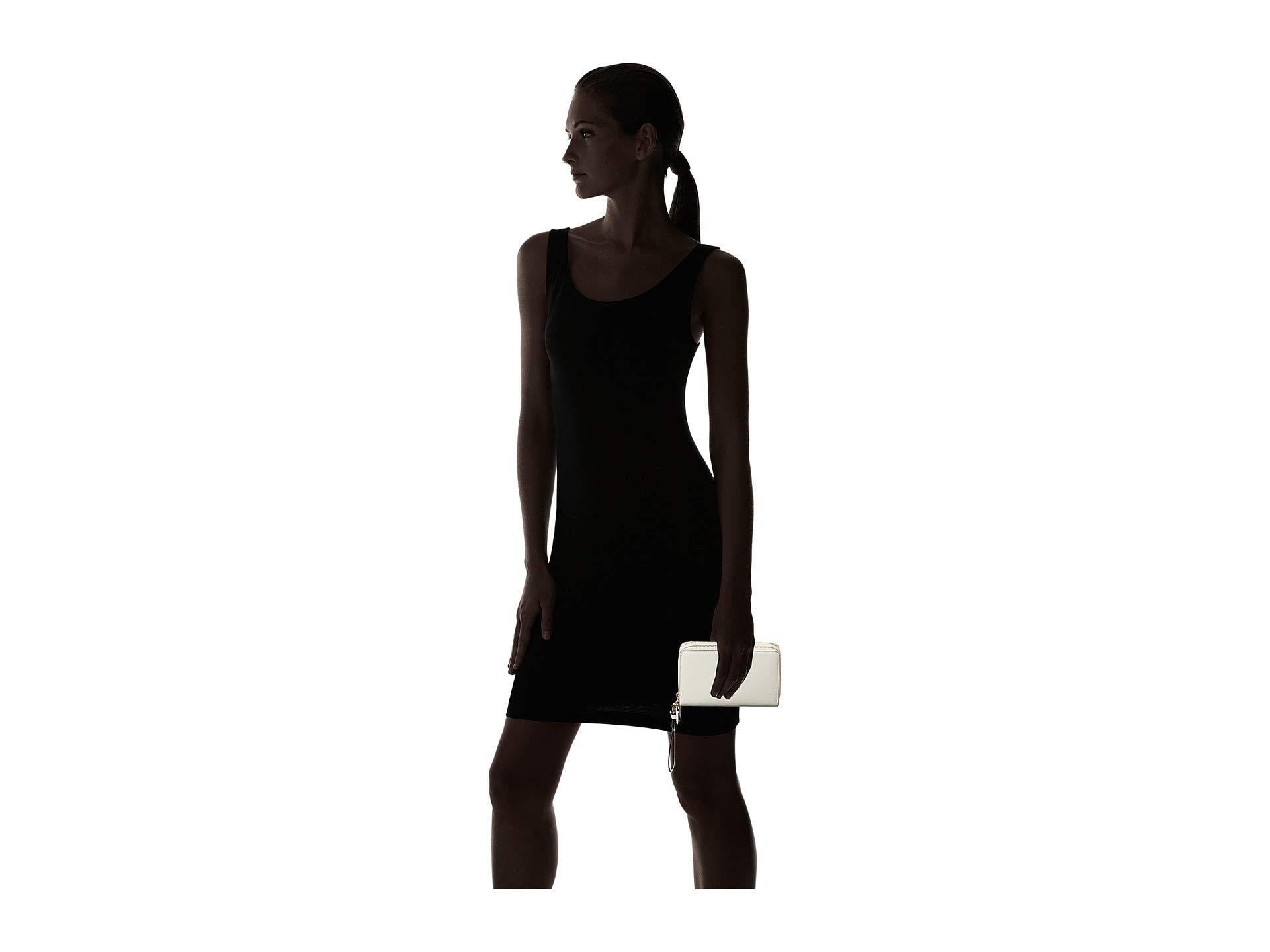 Zip Phone Wristlet Bennington Vanilla Double Lauren Ralph tWPq11