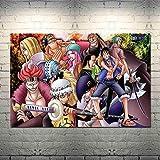 WYXC 日本アニメジグソーパズル、海賊王大人木製パズル画像、親が子供に与える誕生日休暇ジグソーおもちゃギフト1000個