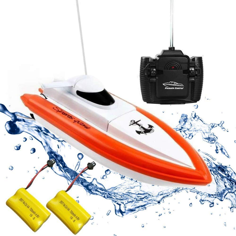 Rabing Remote Control Electric Boat Red