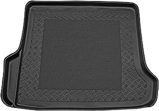 ZentimeX Z912356 Vasca baule su misura con superficie scanalata e integrato tappeto antiscivolo