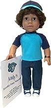 My Sibling 18 Inch Boy Doll, Andy