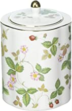 Wedgwood Wild Strawberry Tea Caddy, Green