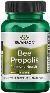 Swanson Bee Propolis 550 Milligrams 60 Capsules