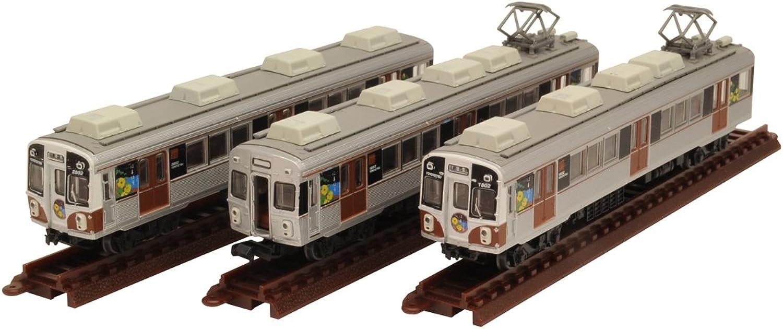 Railway collection iron Colle Toyohashi Railroad 1800 system 3Car Set B  Hamabou