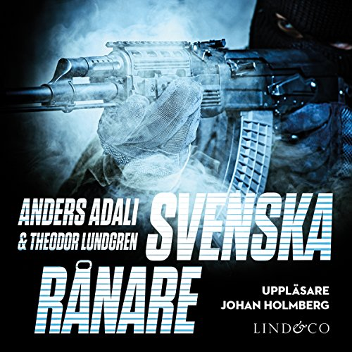 Svenska rånare audiobook cover art
