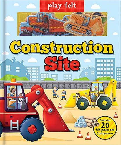 Play Felt Construction Site - Activity Book (Soft Felt Play Books)