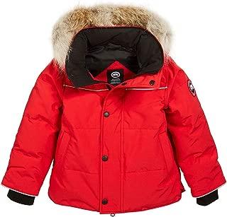 Canada Goose Kids Snowy Owl Winter Fur Parka Jacket Coat