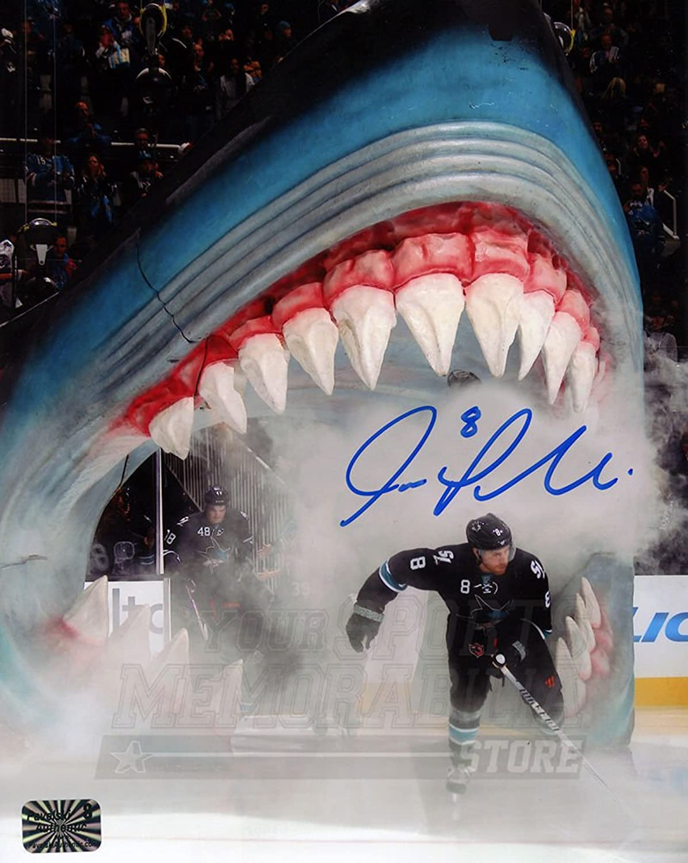 Joe Pavelski San Jose Sharks Signed Autographed Game Introduction 8x10