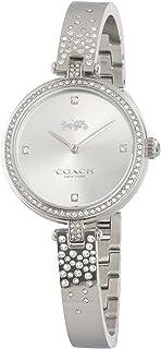 COACH PARK WOMEN's SILVER WHITE DIAL WATCH - 14503650