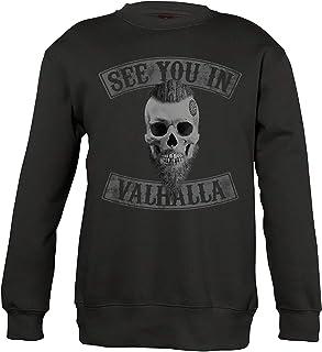Camiseta y jersey de Odins Cuervo vikingo Viking Valhalla Odin Thor Nordmann Wolf