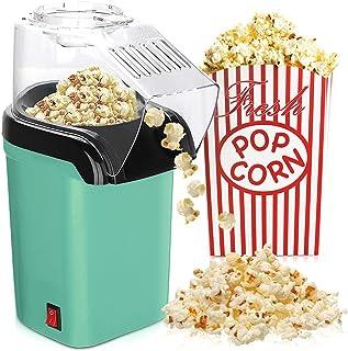 IVEOPPE Machine à Popcorn à air Chaud Sans Huile et sans Graisse, Ouverture Large, Couvercle Amovible, Antiadhésive, avec ...