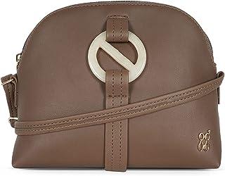 Baggit Women's Bag (LPXE_TROLL_E_DIEGO_MUD_YELLOW_L)