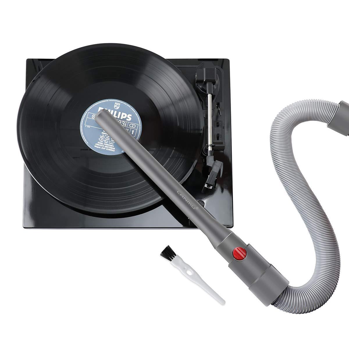 LANMU Kit de limpieza de discos de vinilo compatible con ...