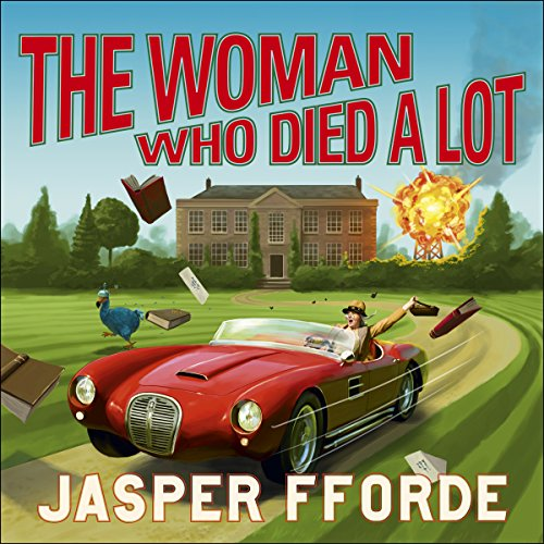 The Woman Who Died a lot cover art