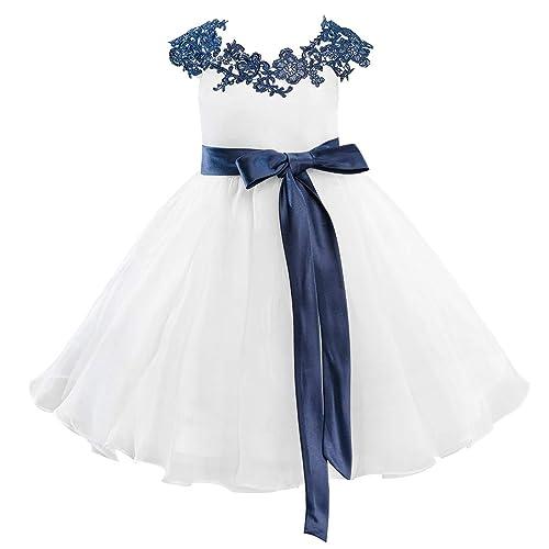 6e57b320a Navy Blue and White Lace Dresses  Amazon.com