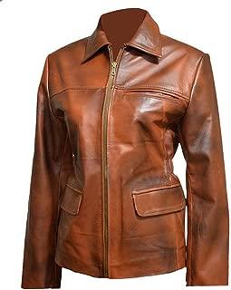 III-Fashions Womens Katniss Hunger Jennifer Brown Games Leather Jacket