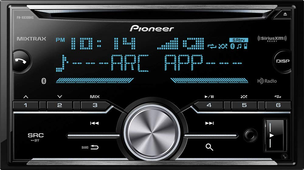 Pioneer FH X830BHS Double Receiver Bluetooth