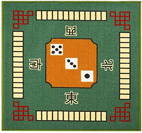 Wivilly Mahjong Matte Tischdecke Beseitigen Lärmdämpfer Für Mahjong Poker Kartenspiele Brettspiele Tile Spiele Mahjong Tischdecke Protect Desktop-,Grün