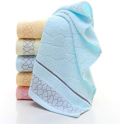 タオルケット ストックタオルタオル100グラムの32株 タオルケット シングル (Color : Blue, Size : 34*76)