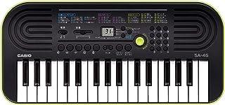 Black & Green Casio Sa-46 Mini Keyboard Mini Keyboard 32 -海外卖家直邮