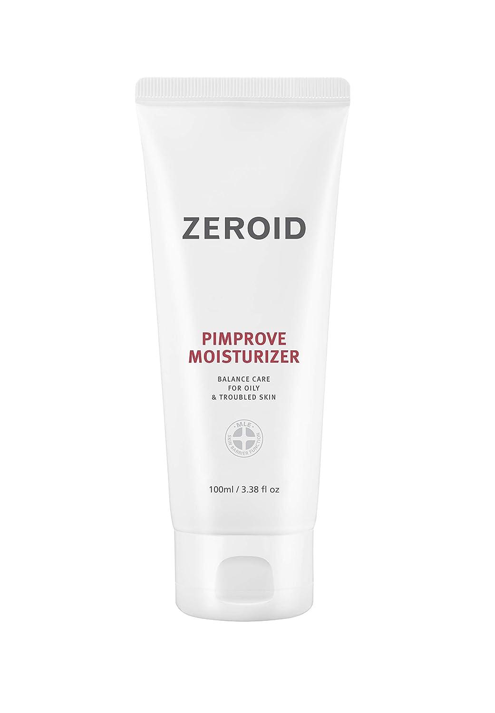 ZEROID Pimprove Moisturizer   Professional Care   K-Beauty   Hyaluronic Acid   Skin Barrier   100ml (3.38 fl oz.)