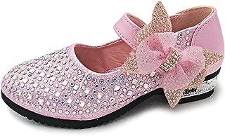 Little Big Girl Glitter PU Leather Mary Jane Shoes